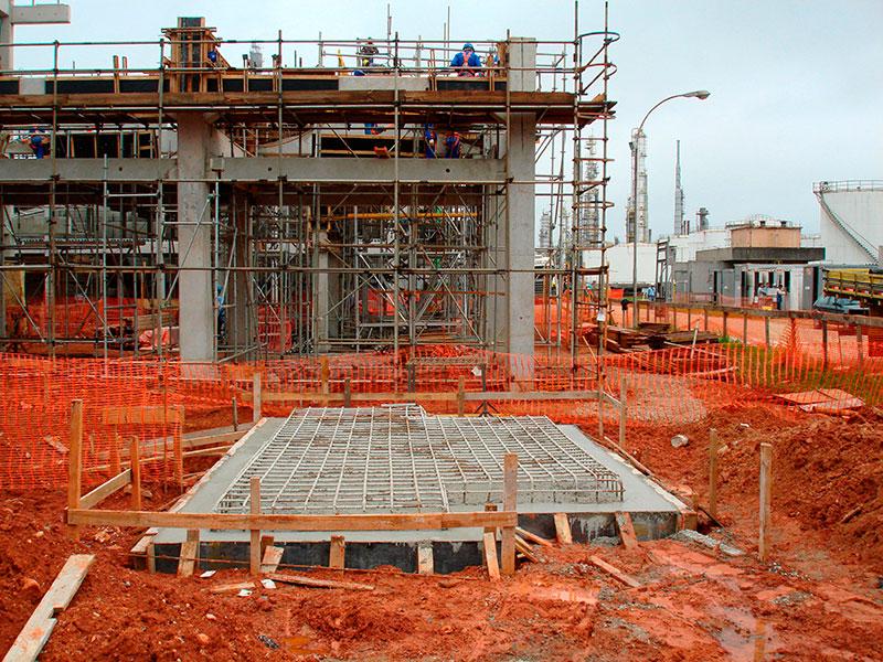 Construtora obras comerciais e industriais