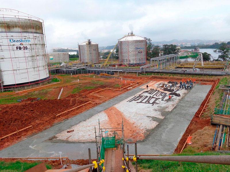 Fabricante de reservatórioem concreto