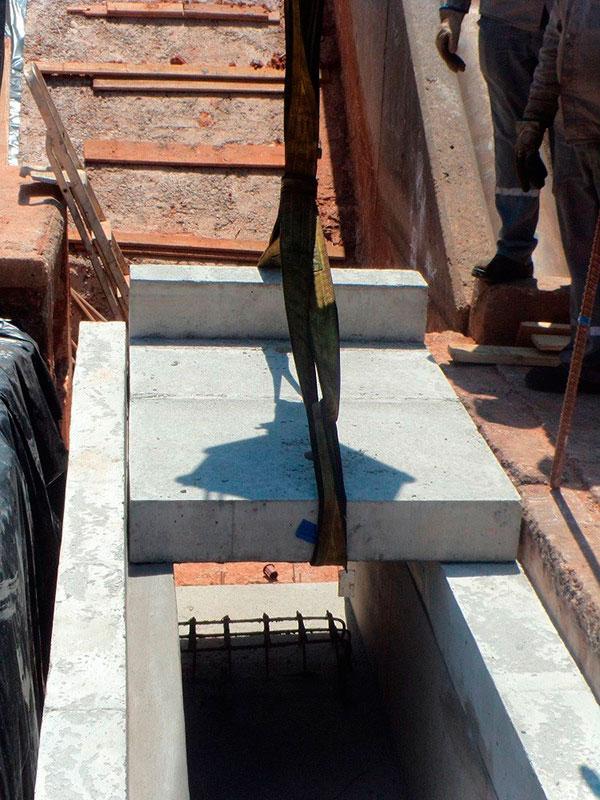 Projeto de rede de drenagem de águas pluviais